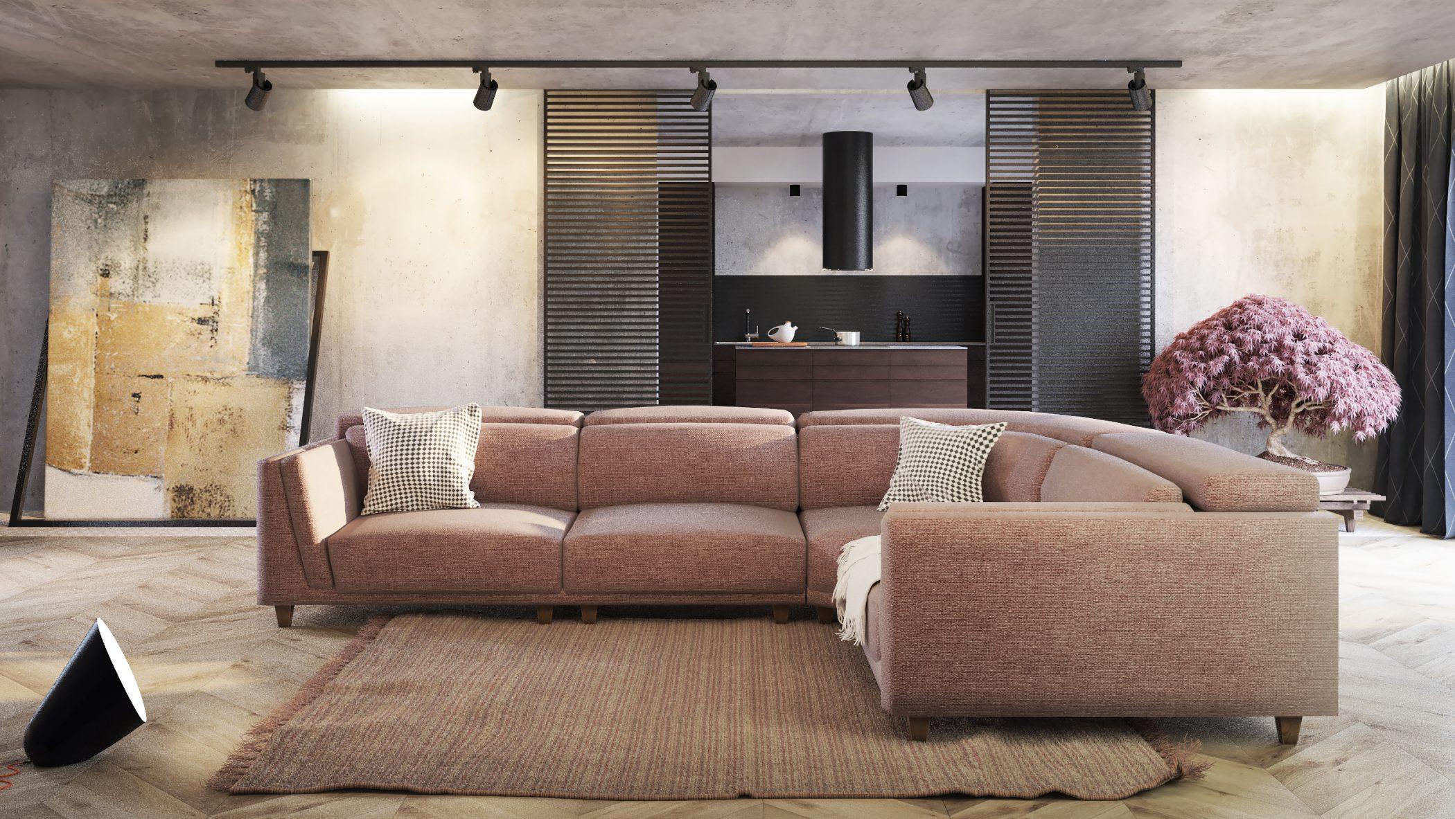 Britannia corner sofa